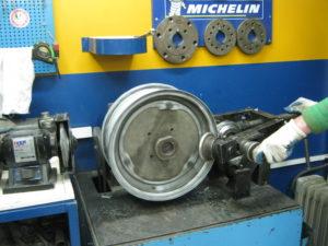 Ремонт штампованных дисков