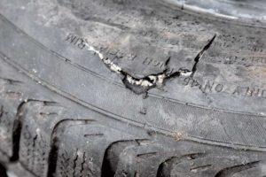 Боковой ремонт шин