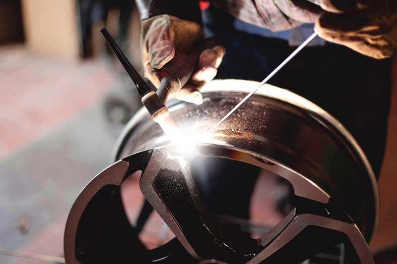 Сварка трещин дисков